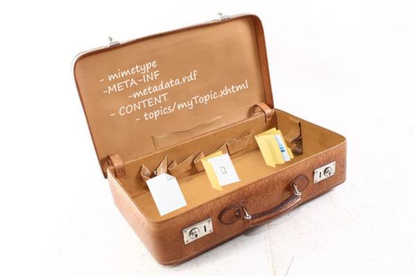 Reisekoffer mit iiRDS